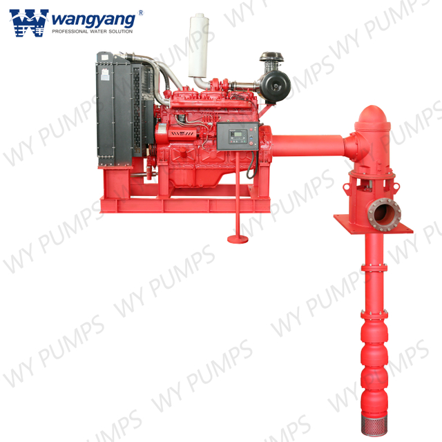 Diesel Engine Vertical Turbine Fire Pump from China, Diesel