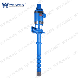 Oil Lubricated Multistage Vertical Turbine Pump With Mechanical Seal